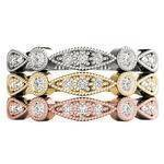 Petite Bezel Stackable Swing Band Set